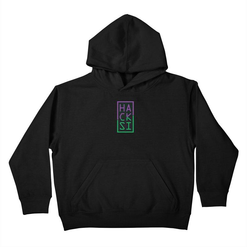 HackSI 2018 Logo Kids Pullover Hoody by The HackSI Shop