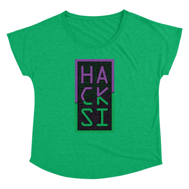 HackSI 2018 Logo Women's Dolman Scoop Neck by The HackSI Shop