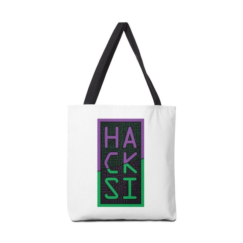 HackSI 2018 Logo Accessories Tote Bag Bag by The HackSI Shop