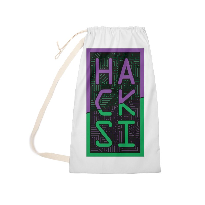 HackSI 2018 Logo Accessories Laundry Bag Bag by The HackSI Shop
