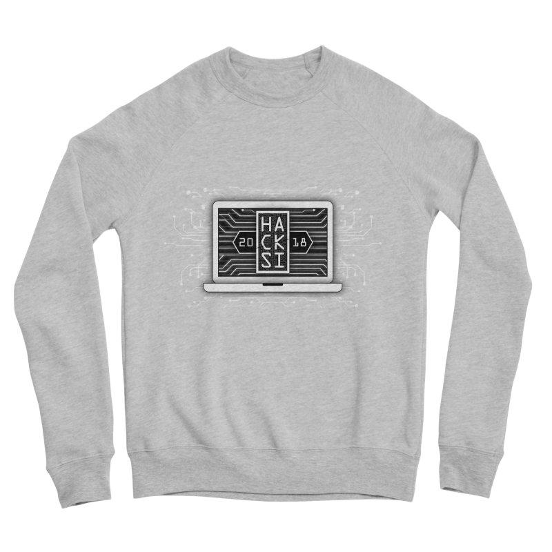 HackSI 2018 Laptop - White Women's Sponge Fleece Sweatshirt by The HackSI Shop