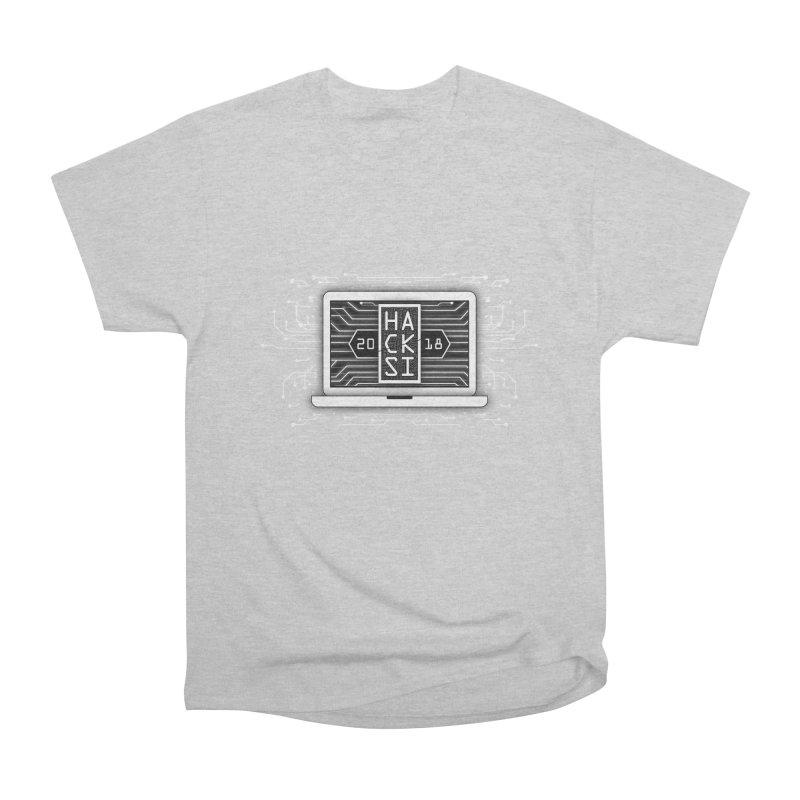 HackSI 2018 Laptop - White Women's T-Shirt by The HackSI Shop