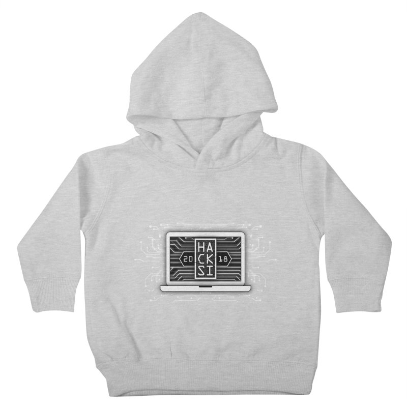 HackSI 2018 Laptop - White Kids Toddler Pullover Hoody by The HackSI Shop