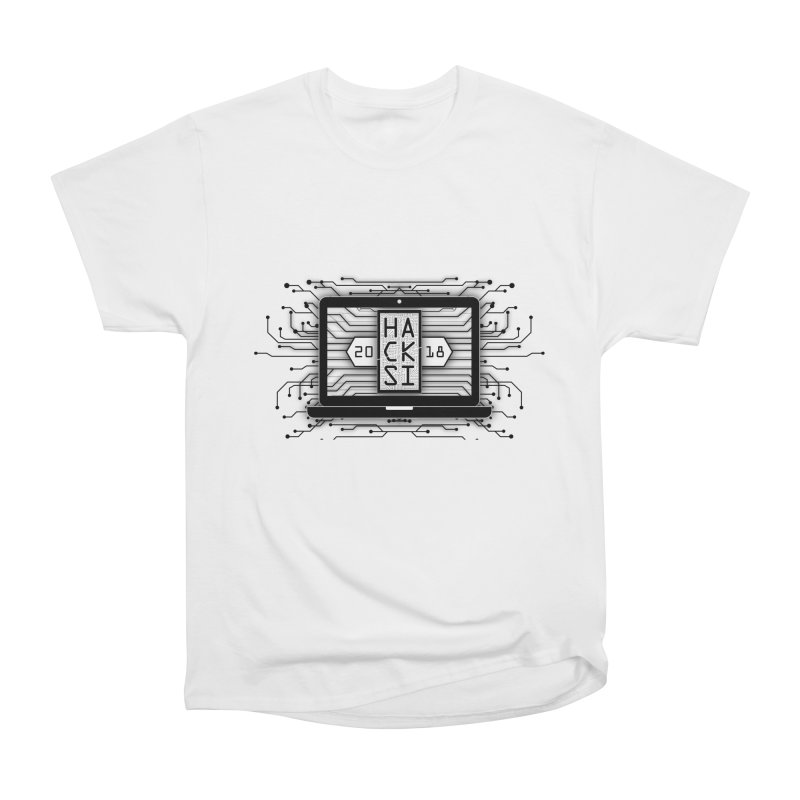 HackSI 2018 Laptop - Black Women's T-Shirt by The HackSI Shop