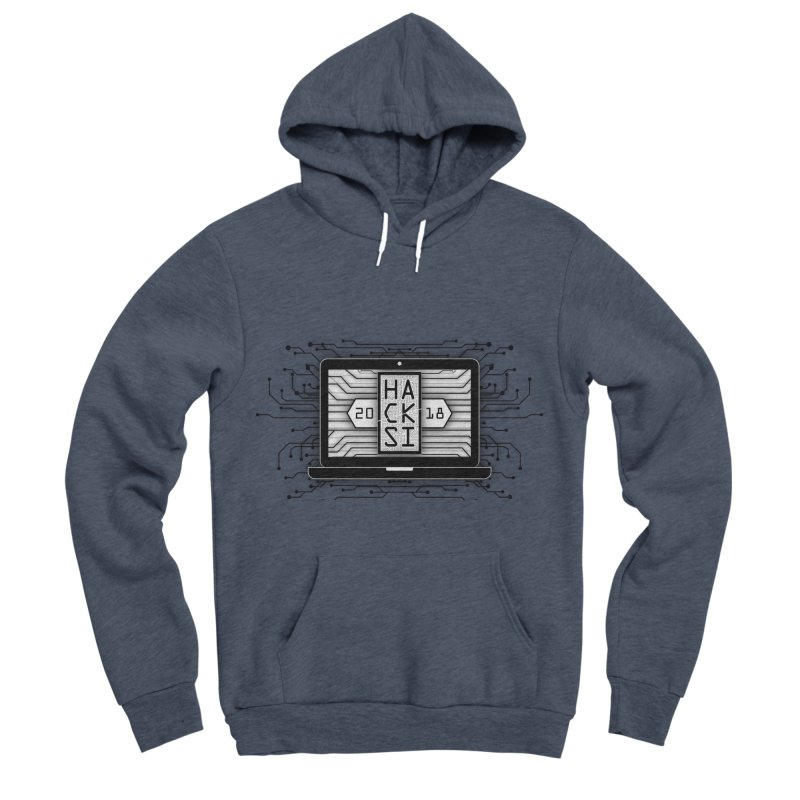 HackSI 2018 Laptop - Black Women's Sponge Fleece Pullover Hoody by The HackSI Shop