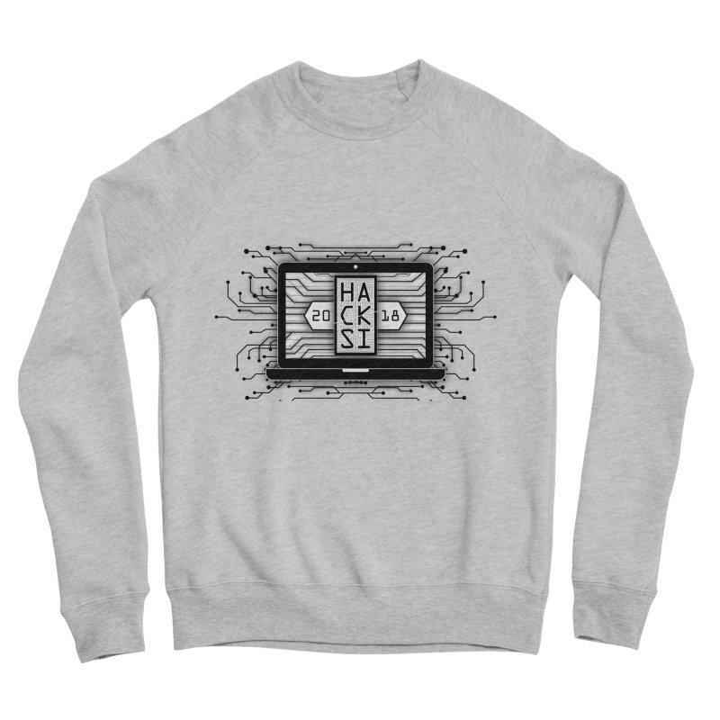 HackSI 2018 Laptop - Black Women's Sponge Fleece Sweatshirt by The HackSI Shop