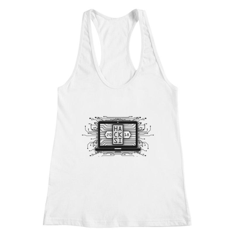HackSI 2018 Laptop - Black Women's Tank by The HackSI Shop