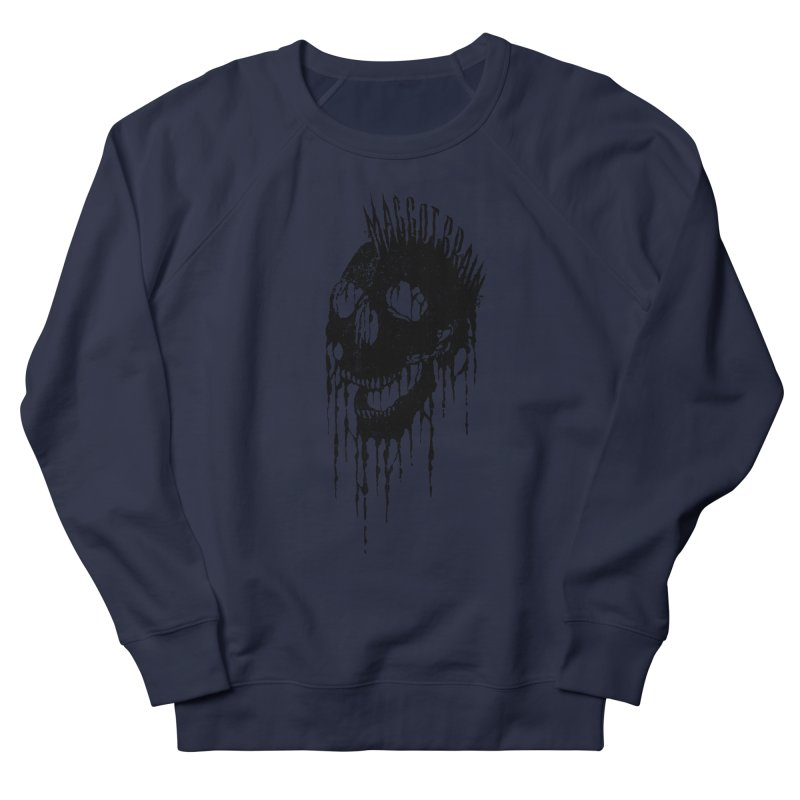 Maggot Brain Men's French Terry Sweatshirt by The Daily Pick