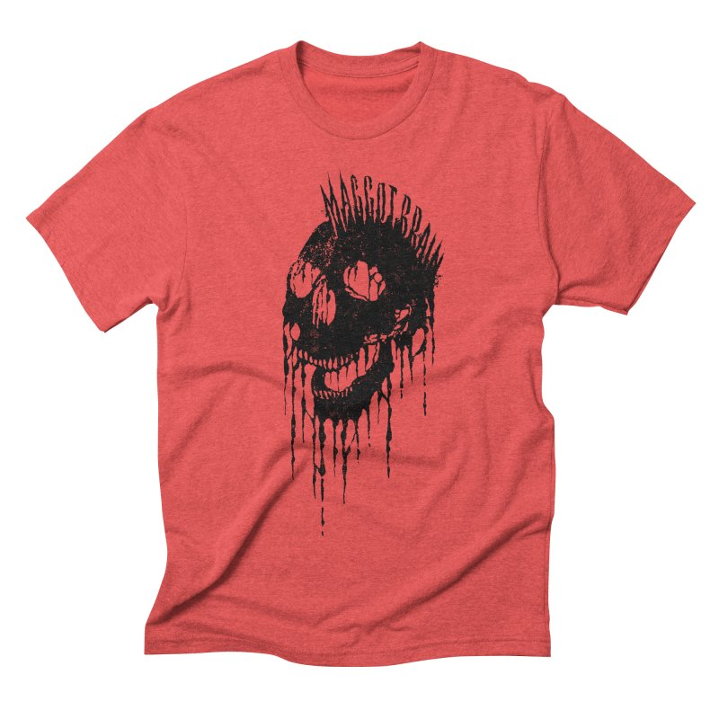 Maggot Brain Men's Triblend T-shirt by The Daily Pick