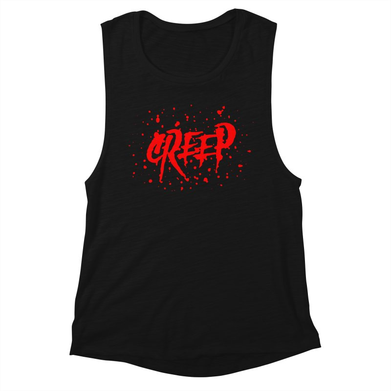 Creep Women's Muscle Tank by The Daily Pick