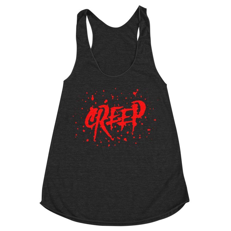Creep Women's Racerback Triblend Tank by The Daily Pick