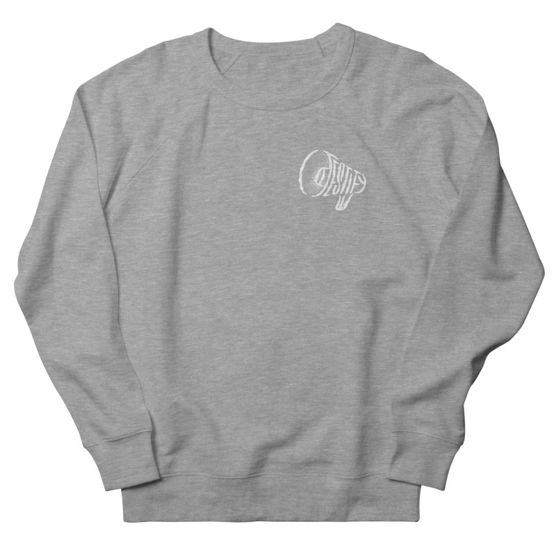 Testify Men's French Terry Sweatshirt by The Daily Pick