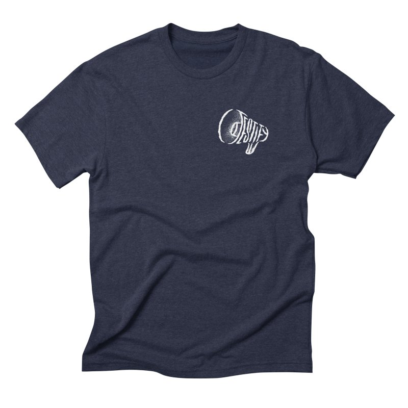 Testify in Men's Triblend T-Shirt Navy by The Daily Pick