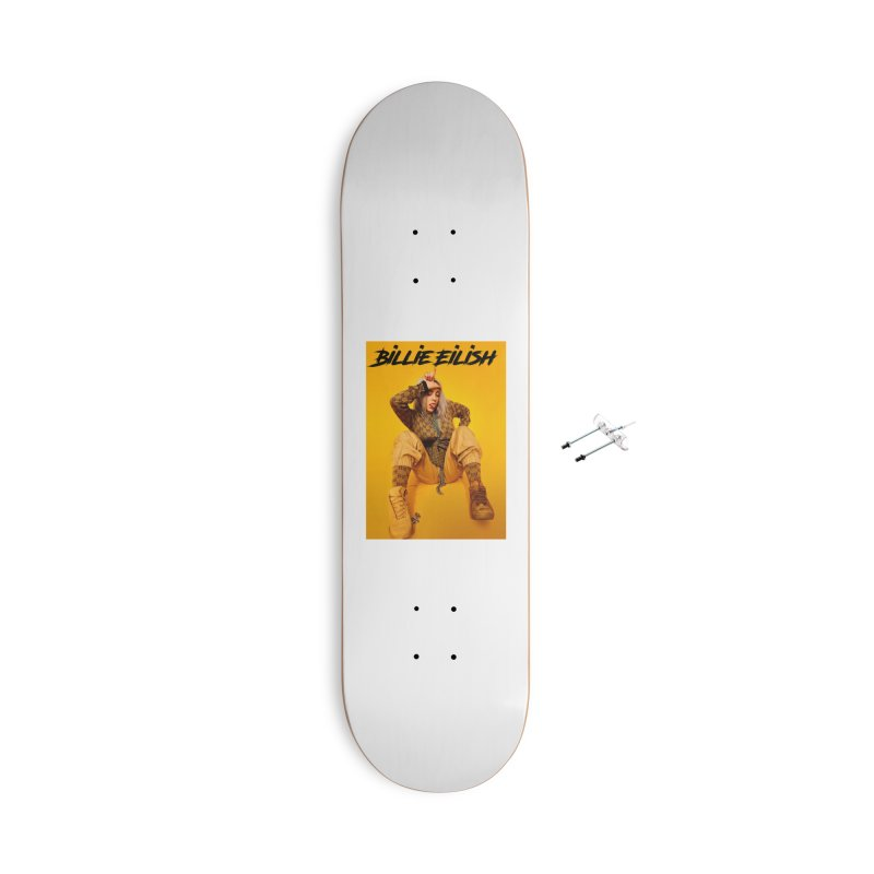 Billie Eilish Accessories Skateboard by hadz20's Artist Shop