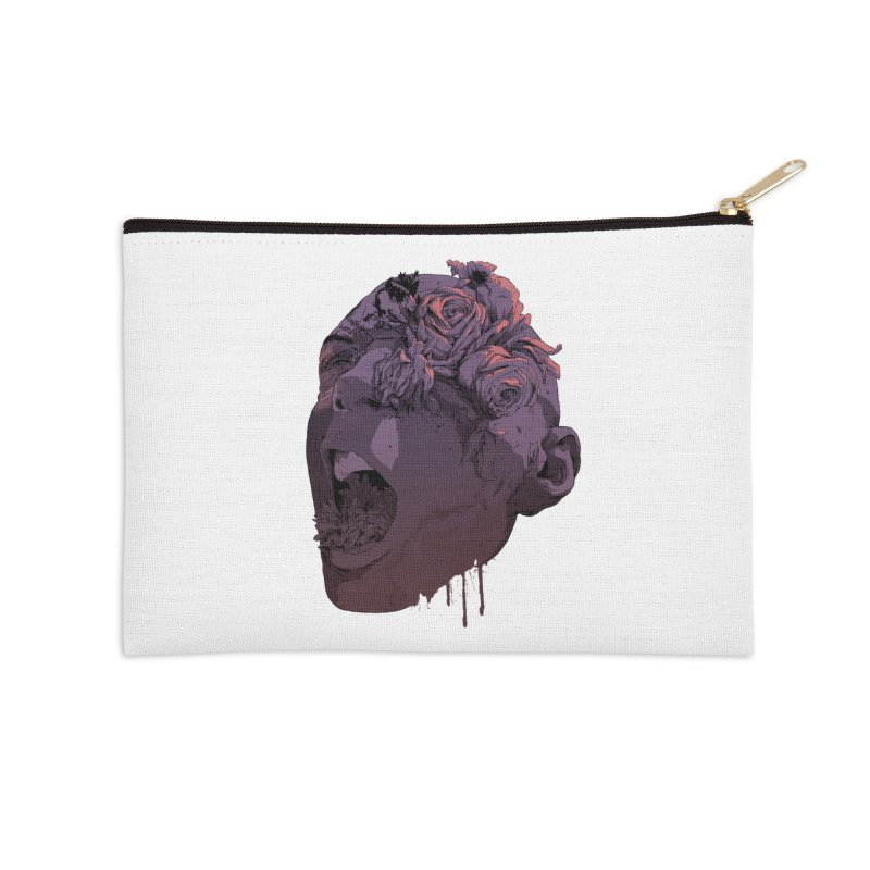 Death By Natural Causes Accessories Zip Pouch by hafaell's Artist Shop