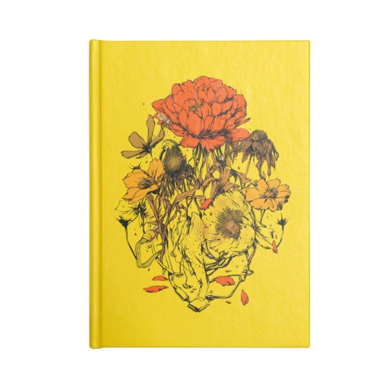 Herbal Network Accessories Blank Journal Notebook by hafaell's Artist Shop