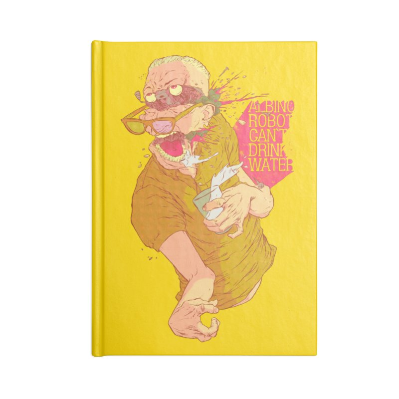 Lesson #2 Accessories Blank Journal Notebook by hafaell's Artist Shop