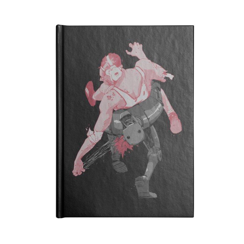 Deus Ex Machina Accessories Blank Journal Notebook by hafaell's Artist Shop