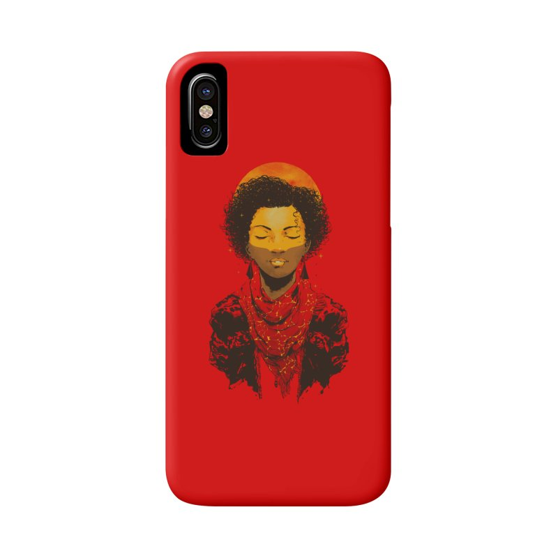 Solar Accessories Phone Case by hafaell's Artist Shop