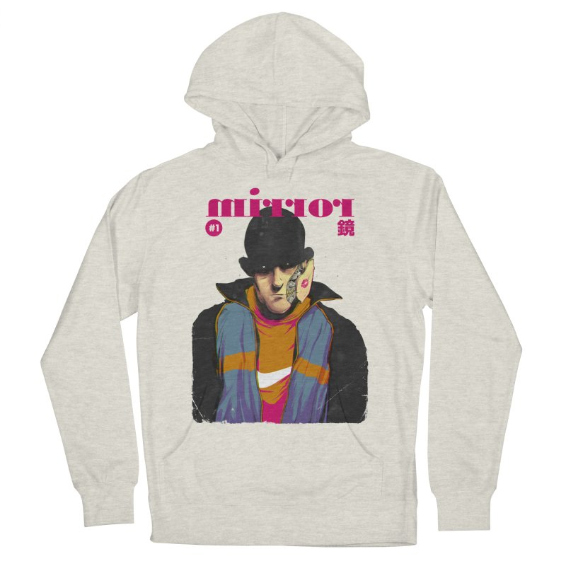 Mirror Issue 1 Men's French Terry Pullover Hoody by hafaell's Artist Shop