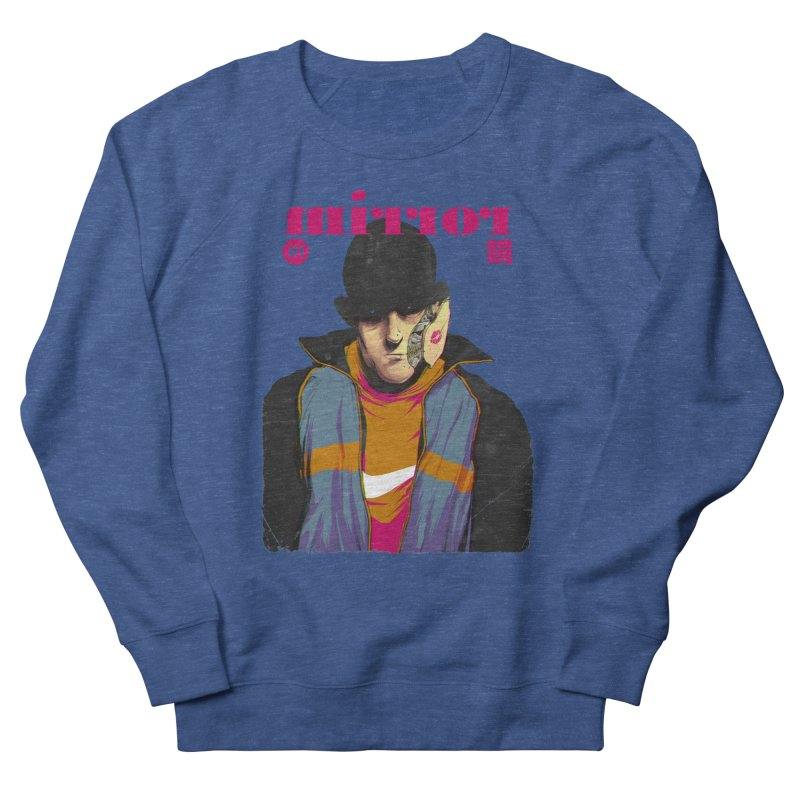 Mirror Issue 1 Men's French Terry Sweatshirt by hafaell's Artist Shop