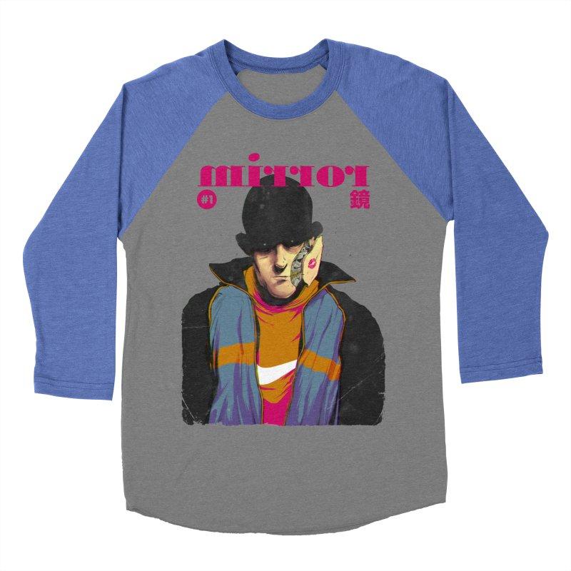 Mirror Issue 1 Men's Baseball Triblend Longsleeve T-Shirt by hafaell's Artist Shop
