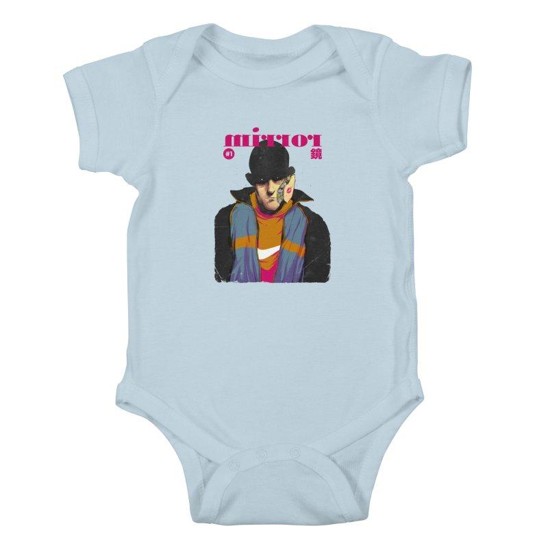 Mirror Issue 1 Kids Baby Bodysuit by hafaell's Artist Shop