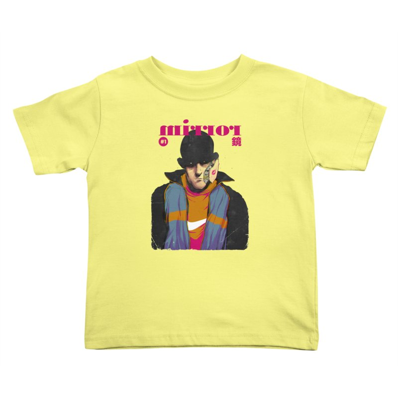 Mirror Issue 1 Kids Toddler T-Shirt by hafaell's Artist Shop