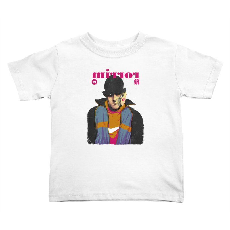 Mirror Issue 1 Kids Toddler T-Shirt by hafaell's Artist Shop