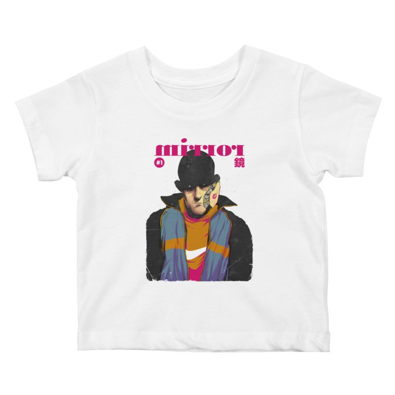 Mirror Issue 1 Kids Baby T-Shirt by hafaell's Artist Shop