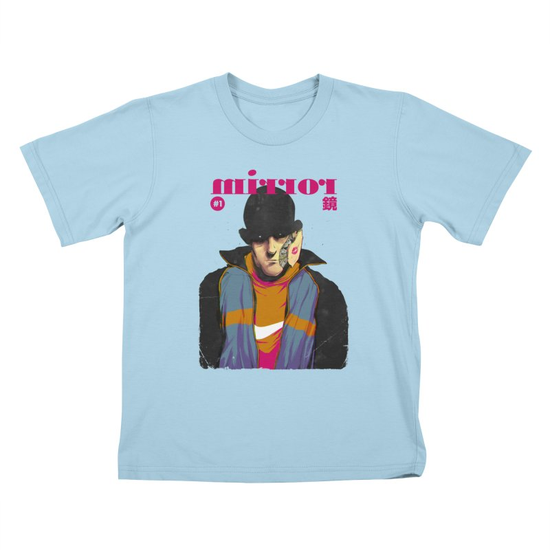 Mirror Issue 1 Kids T-shirt by hafaell's Artist Shop