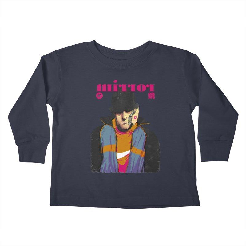 Mirror Issue 1 Kids Toddler Longsleeve T-Shirt by hafaell's Artist Shop