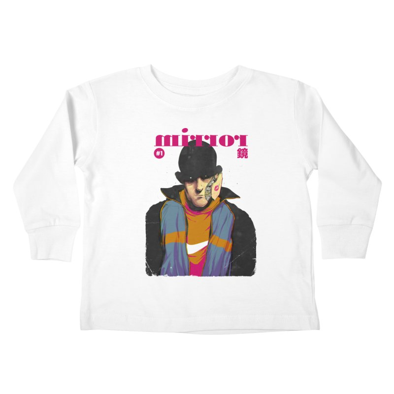 Mirror Issue 1 Kids Toddler Longsleeve T-Shirt by hafaell's Artist Shop