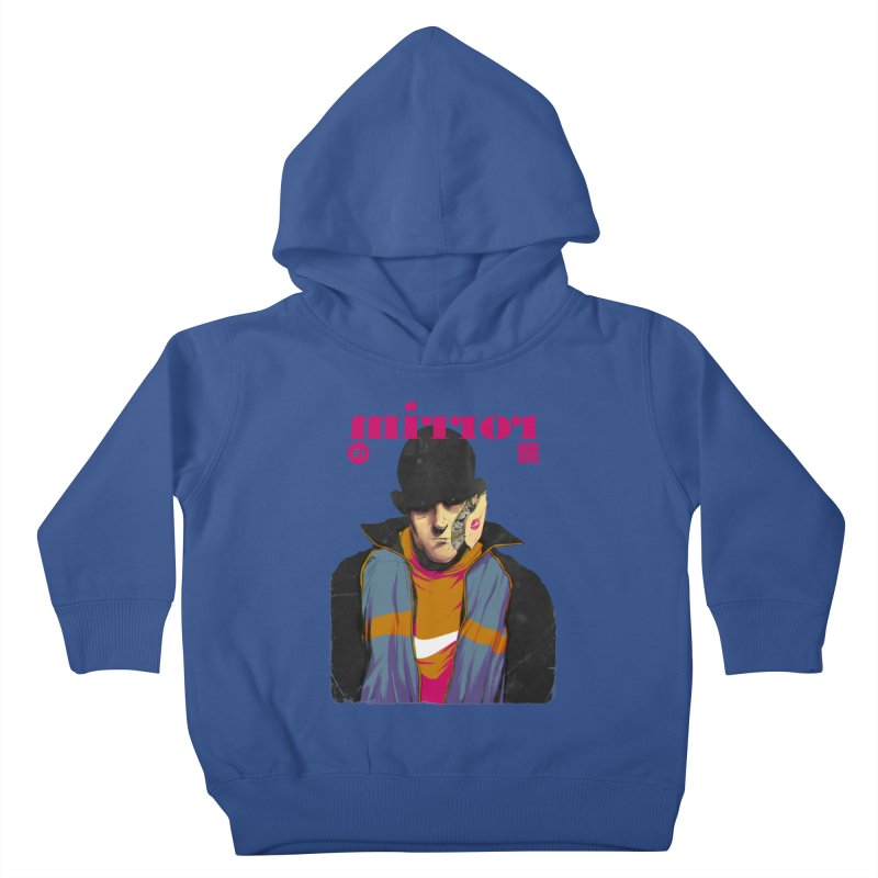 Mirror Issue 1 Kids Toddler Pullover Hoody by hafaell's Artist Shop
