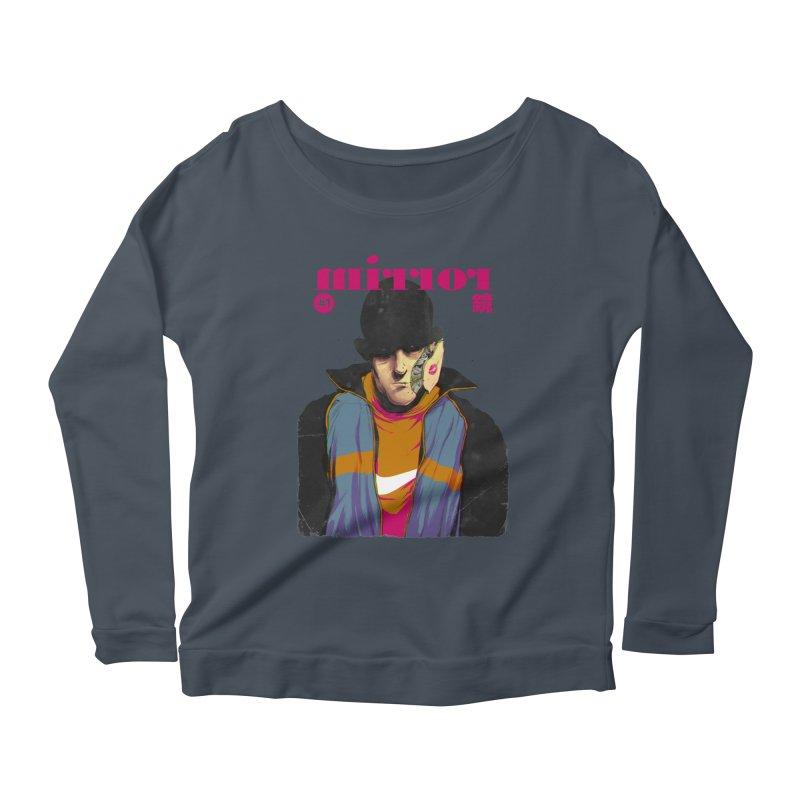 Mirror Issue 1 Women's Scoop Neck Longsleeve T-Shirt by hafaell's Artist Shop