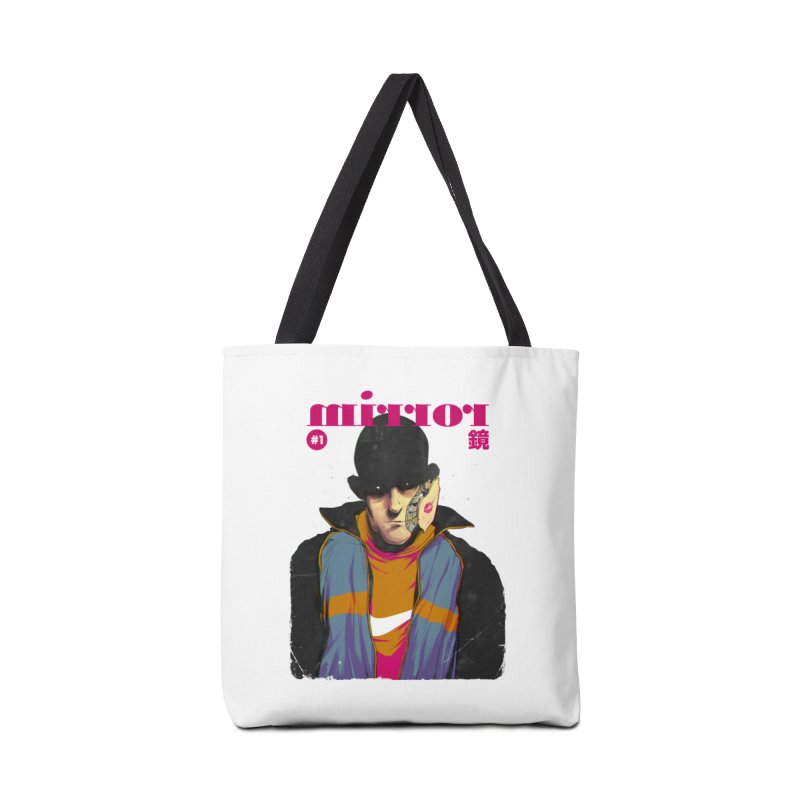 Mirror Issue 1 Accessories Tote Bag Bag by hafaell's Artist Shop