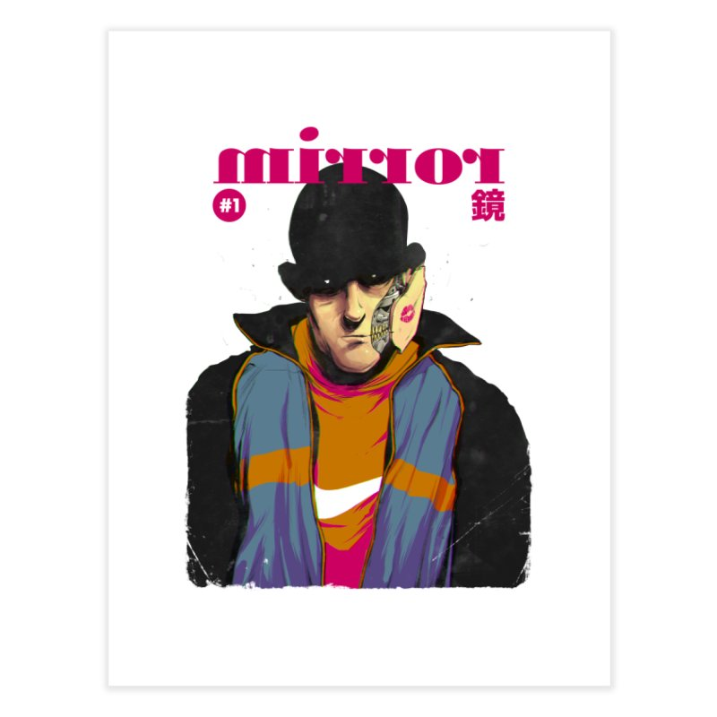 Mirror Issue 1   by hafaell's Artist Shop