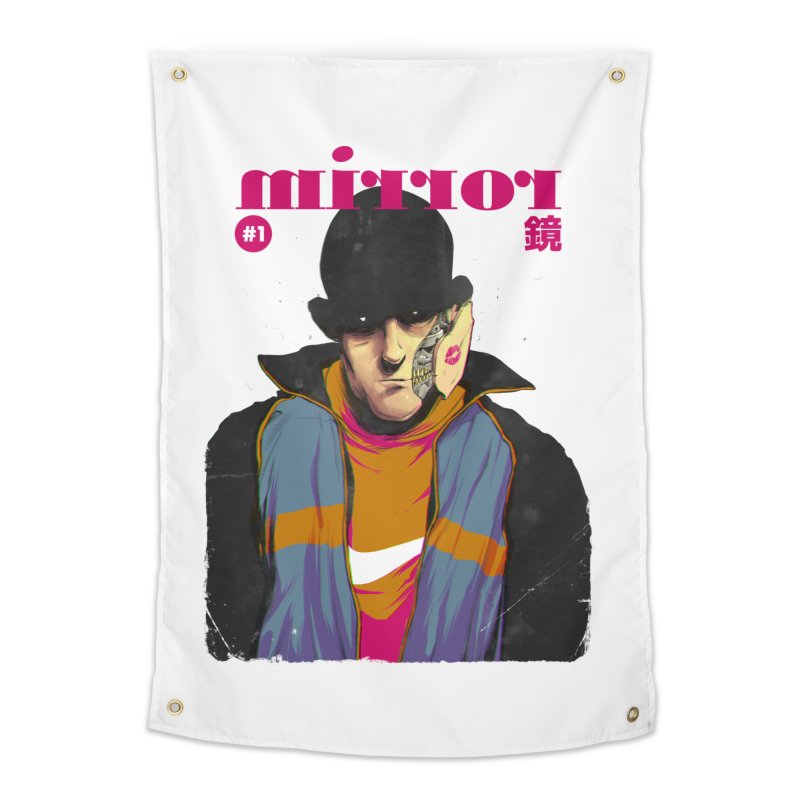 Mirror Issue 1 Home Tapestry by hafaell's Artist Shop
