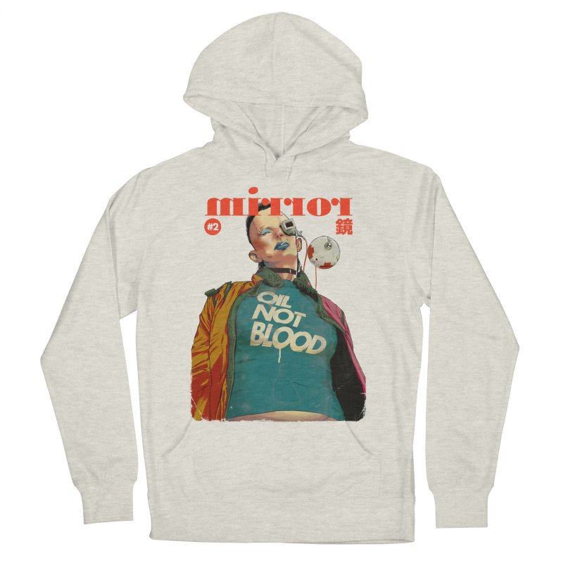 Mirror Issue 2 Women's Pullover Hoody by hafaell's Artist Shop