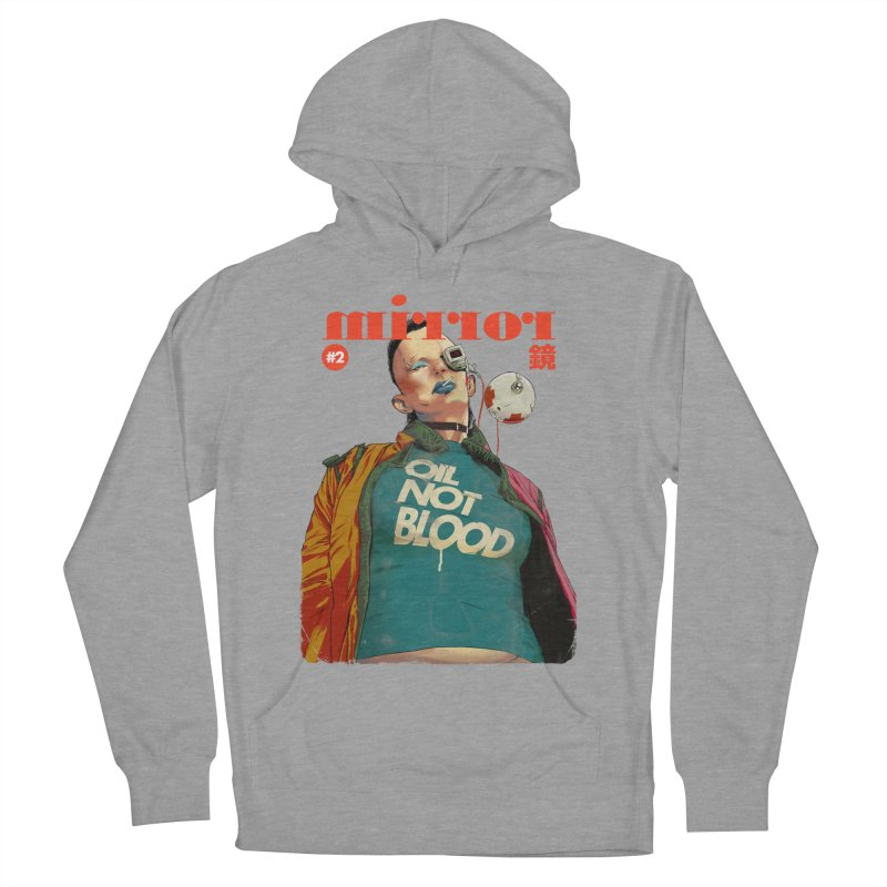Mirror Issue 2 Men's French Terry Pullover Hoody by hafaell's Artist Shop