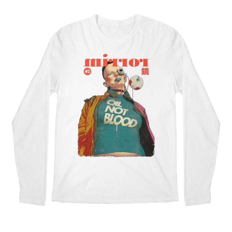 Mirror Issue 2 Men's Regular Longsleeve T-Shirt by hafaell's Artist Shop