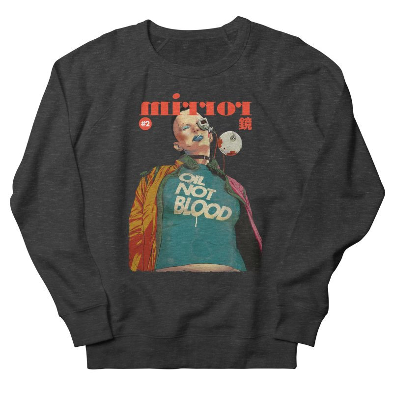 Mirror Issue 2 Men's Sweatshirt by hafaell's Artist Shop