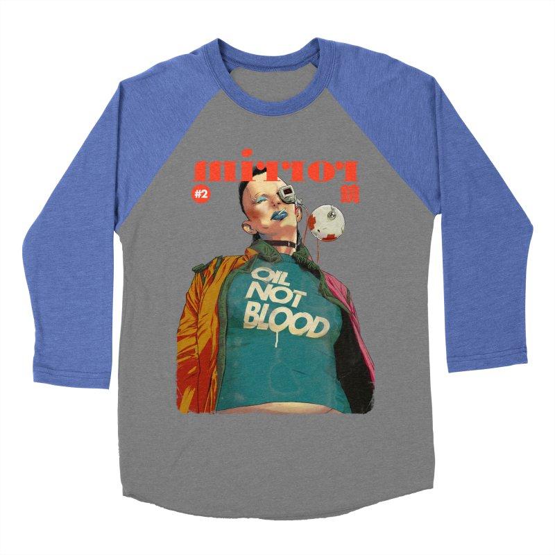 Mirror Issue 2 Men's Baseball Triblend Longsleeve T-Shirt by hafaell's Artist Shop