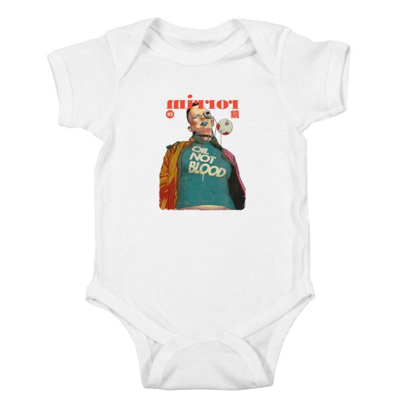 Mirror Issue 2 Kids Baby Bodysuit by hafaell's Artist Shop