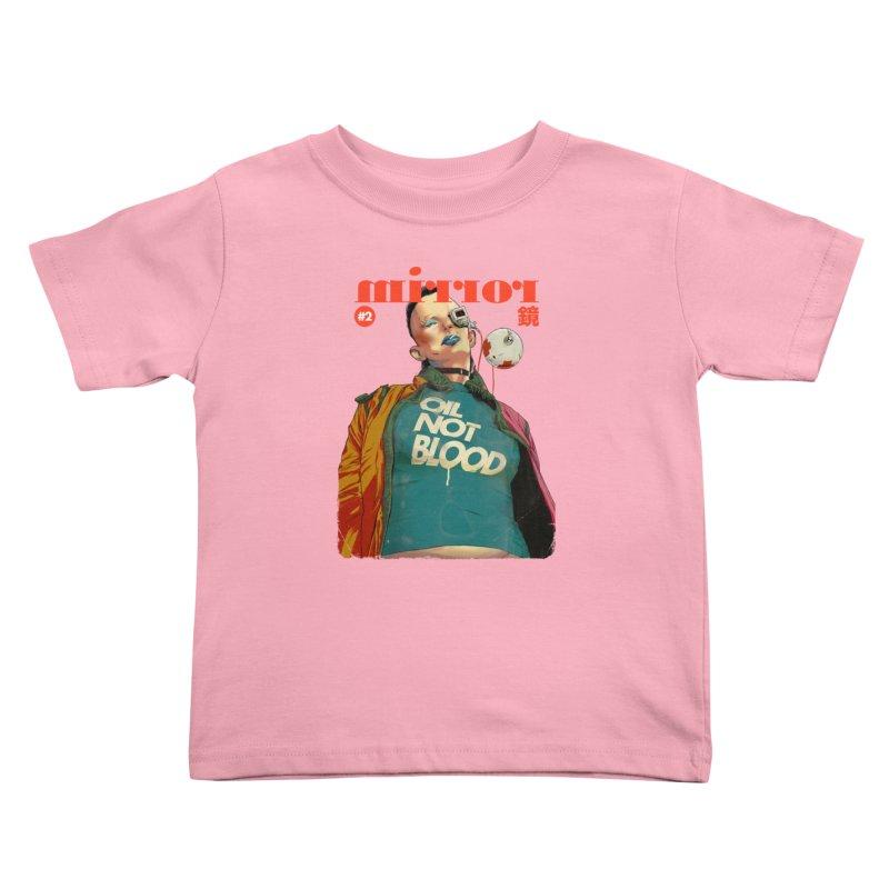 Mirror Issue 2 Kids Toddler T-Shirt by hafaell's Artist Shop