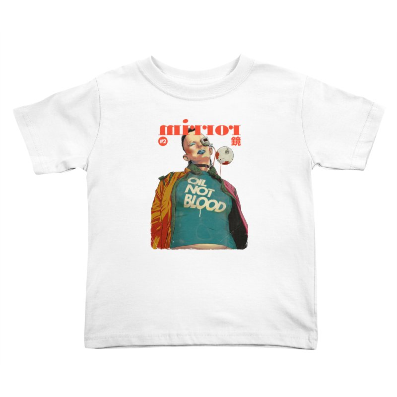 Mirror Issue 2 Kids Toddler T-Shirt by hafaell's Artist Shop