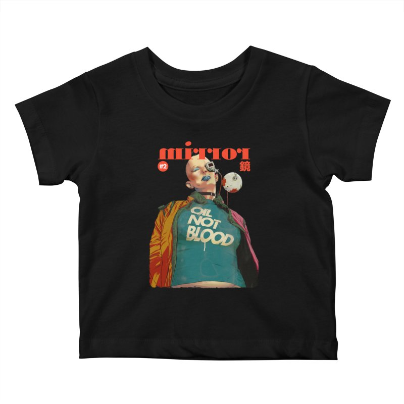 Mirror Issue 2 Kids Baby T-Shirt by hafaell's Artist Shop