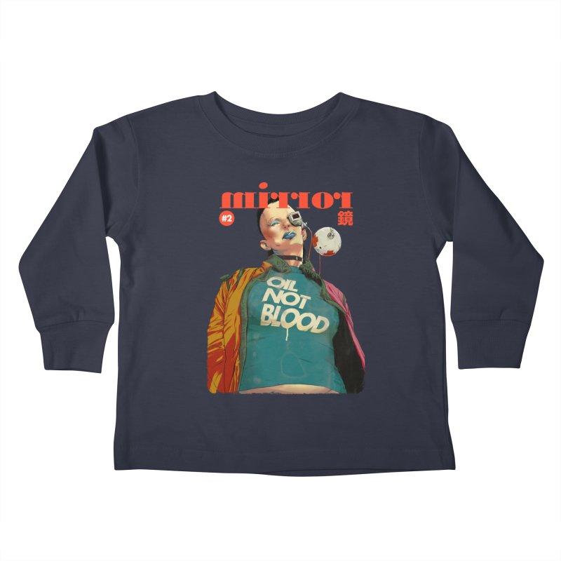 Mirror Issue 2 Kids Toddler Longsleeve T-Shirt by hafaell's Artist Shop