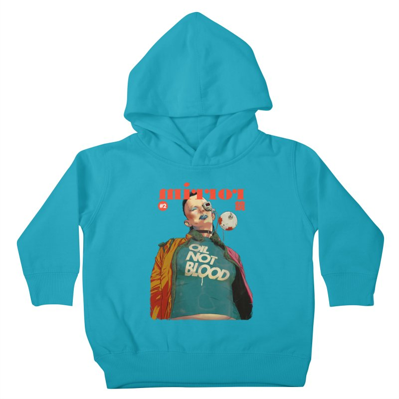Mirror Issue 2 Kids Toddler Pullover Hoody by hafaell's Artist Shop