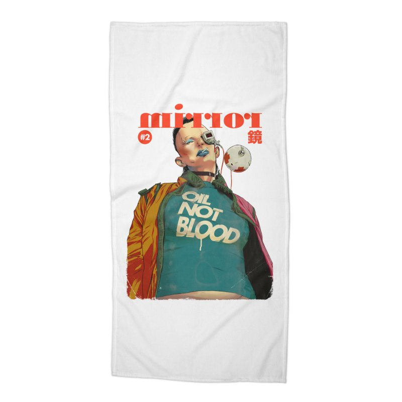 Mirror Issue 2 Accessories Beach Towel by hafaell's Artist Shop